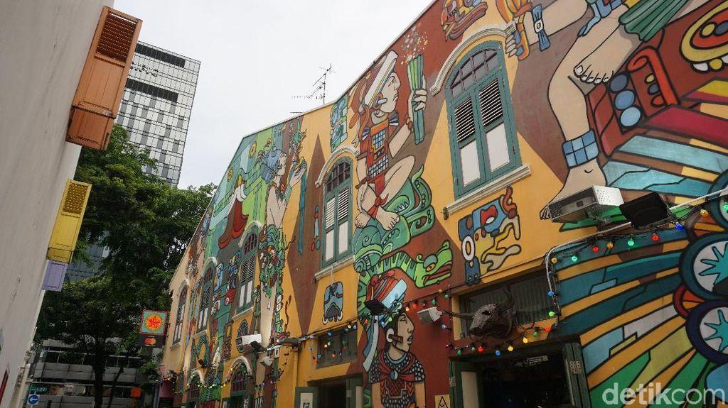 Foto-foto Instagrammable di Singapura, Kunjungi Spot Mural Ini