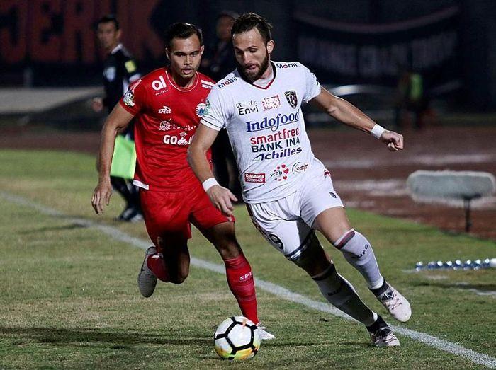 Bali United mengalahkan Persija Jakarta dengan skor 2-0 (Foto: dok. PT Liga Indonesia Baru)