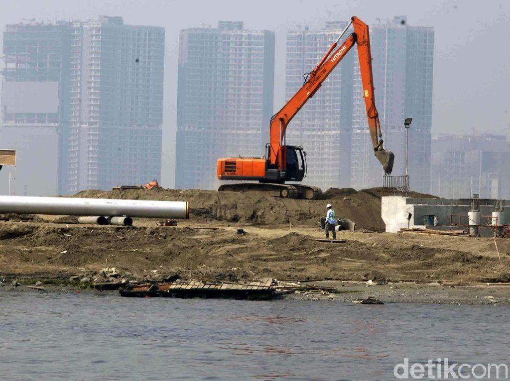 Izin Resmi Jokowi untuk Pembangunan di Pulau Reklamasi