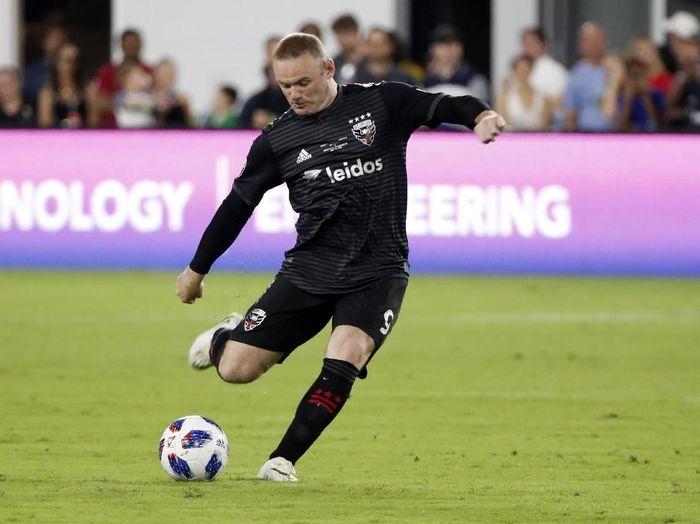 Wayne Rooney kini berkarier di Amerika Serikat bersama DC United. (Foto: Geoff Burke-USA TODAY Sports)