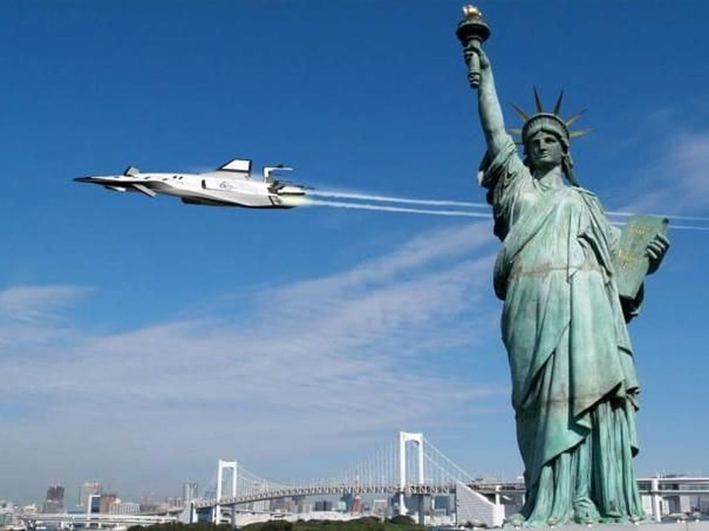 Foto: Aneka Pesawat Super di Masa Depan