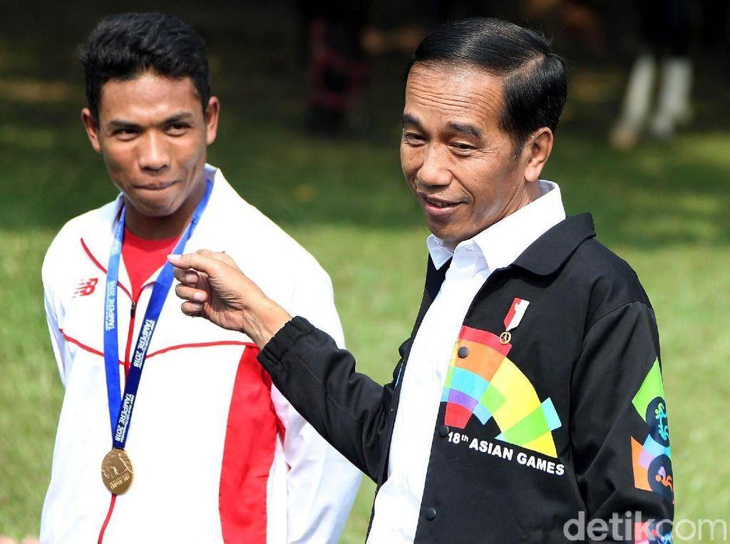 Sanjungan Tinggi Jokowi untuk Zohri, Pemuda Tercepat di Dunia