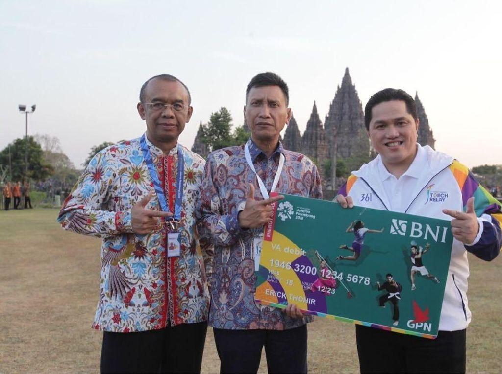 Dukung Asian Games 2018, BNI Luncurkan VA Debit Combo Card