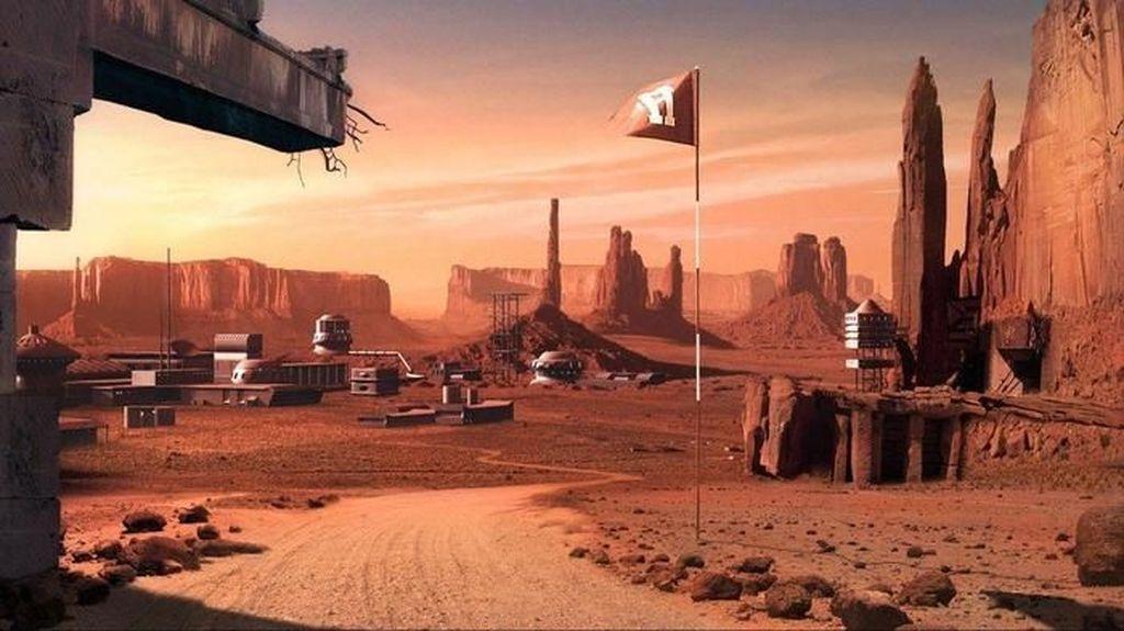 Beginikah Jadinya Kalau Manusia Menetap di Planet Mars?