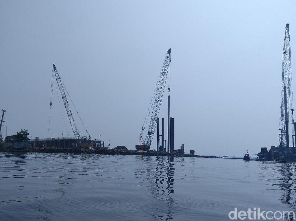 Protes Pembangunan Jembatan, Nelayan Dadap Sempat Usir Tongkang