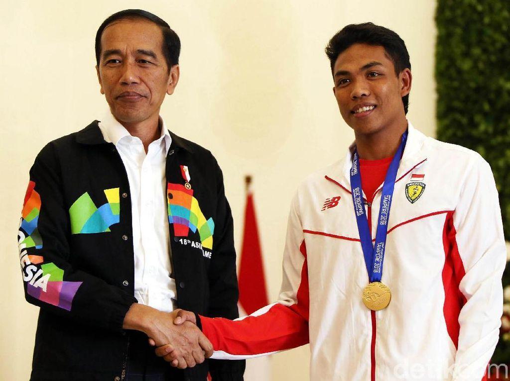Presiden Jokowi Sambut The Flash Indonesia di Istana Bogor