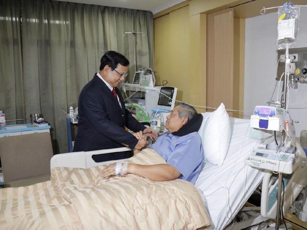 Prabowo Jenguk SBY, Gerindra Serius Bangun Koalisi dengan PD