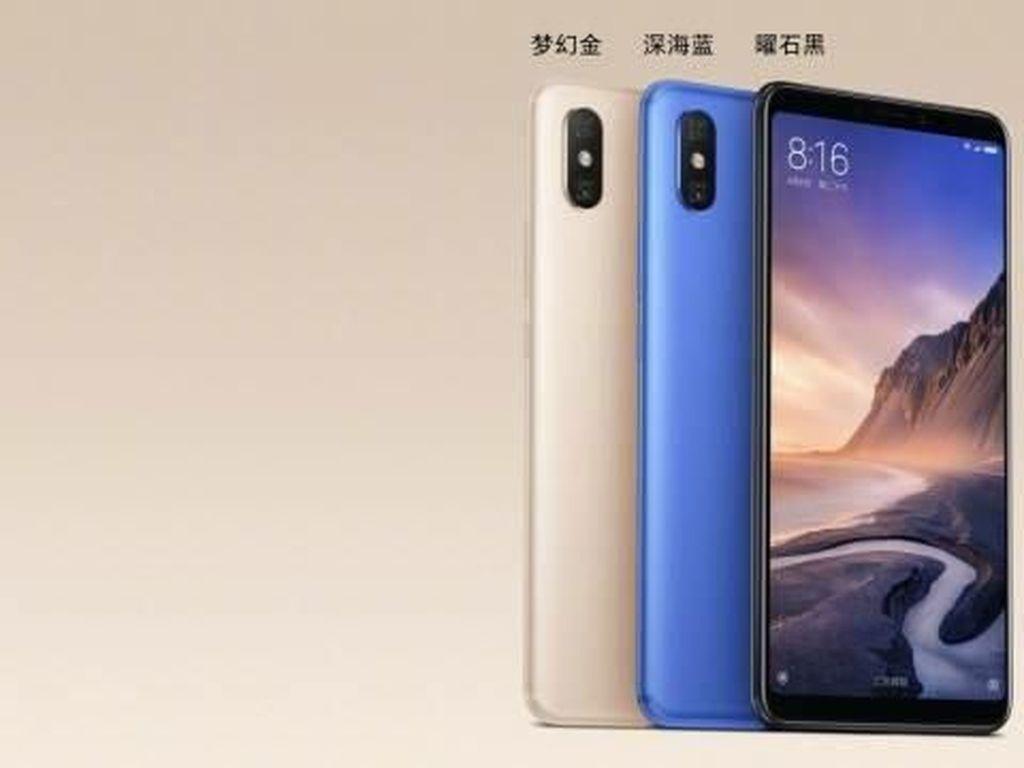 Mengintip Tampilan Mi Max 3, Phablet Anyar Xiaomi