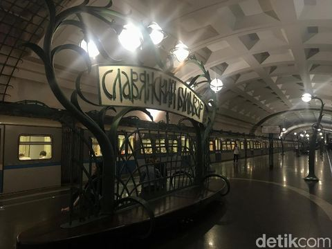 Metro, Keindahan yang Tersembunyi di Bawah Tanah Moskow
