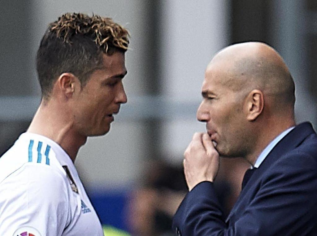 Ronaldo: Zidane Pelatih Cerdas
