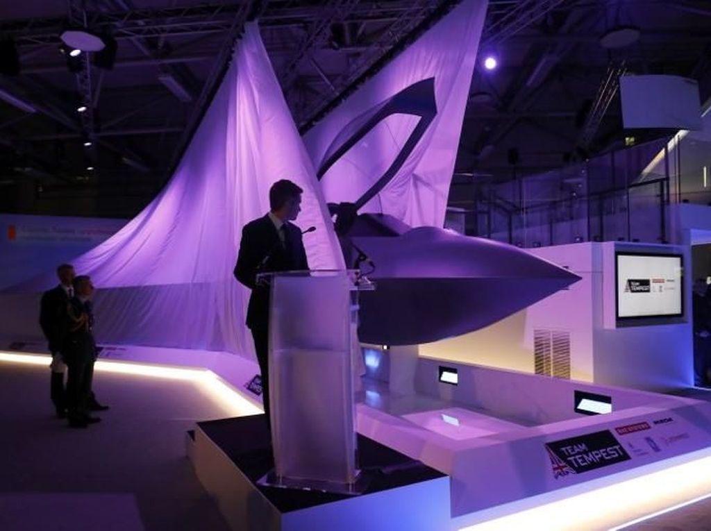 Ini Tempest, Jet Tempur Baru Inggris yang Tercanggih di Dunia
