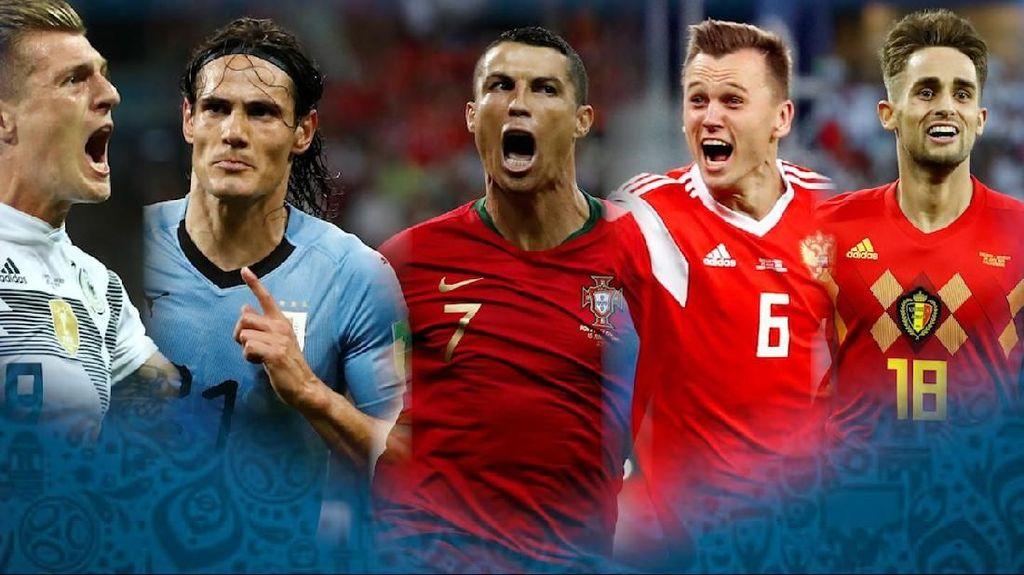 Video Parade Gol Terbaik Piala Dunia 2018