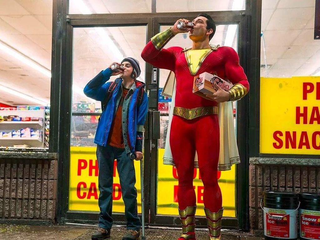 Shazam! Hadir Pasca Keriuhan Wonder Woman hingga Justice League