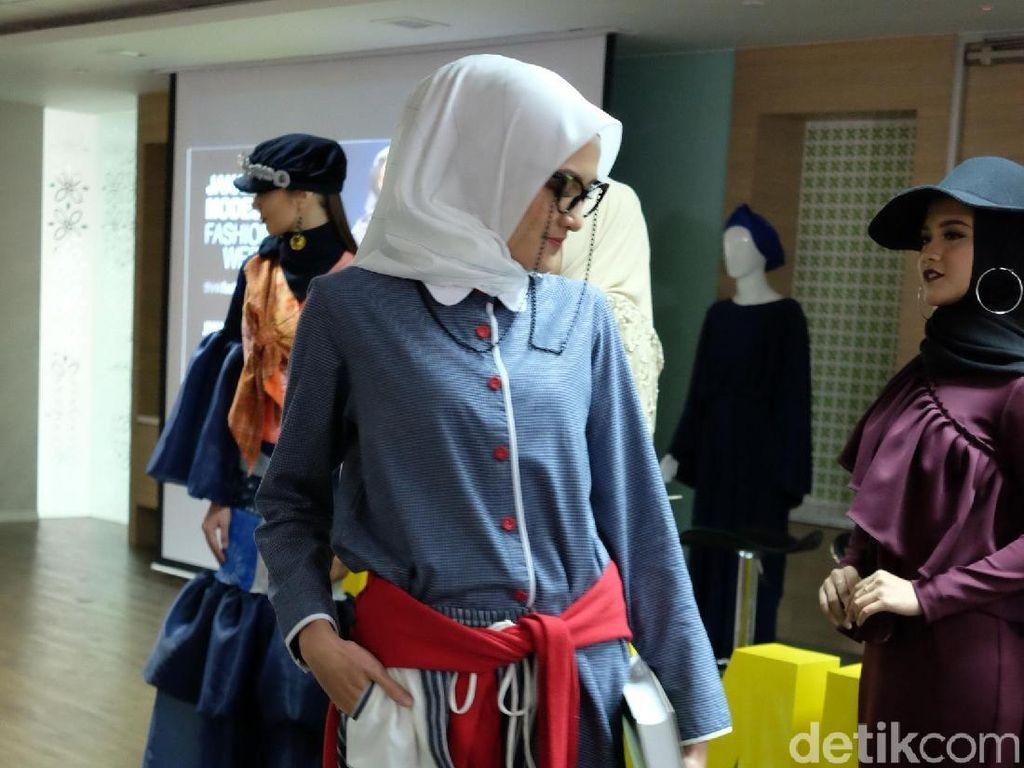 Kaum Difabel Jadi Desainer Hingga Model di Jakarta Modest Fashion Week
