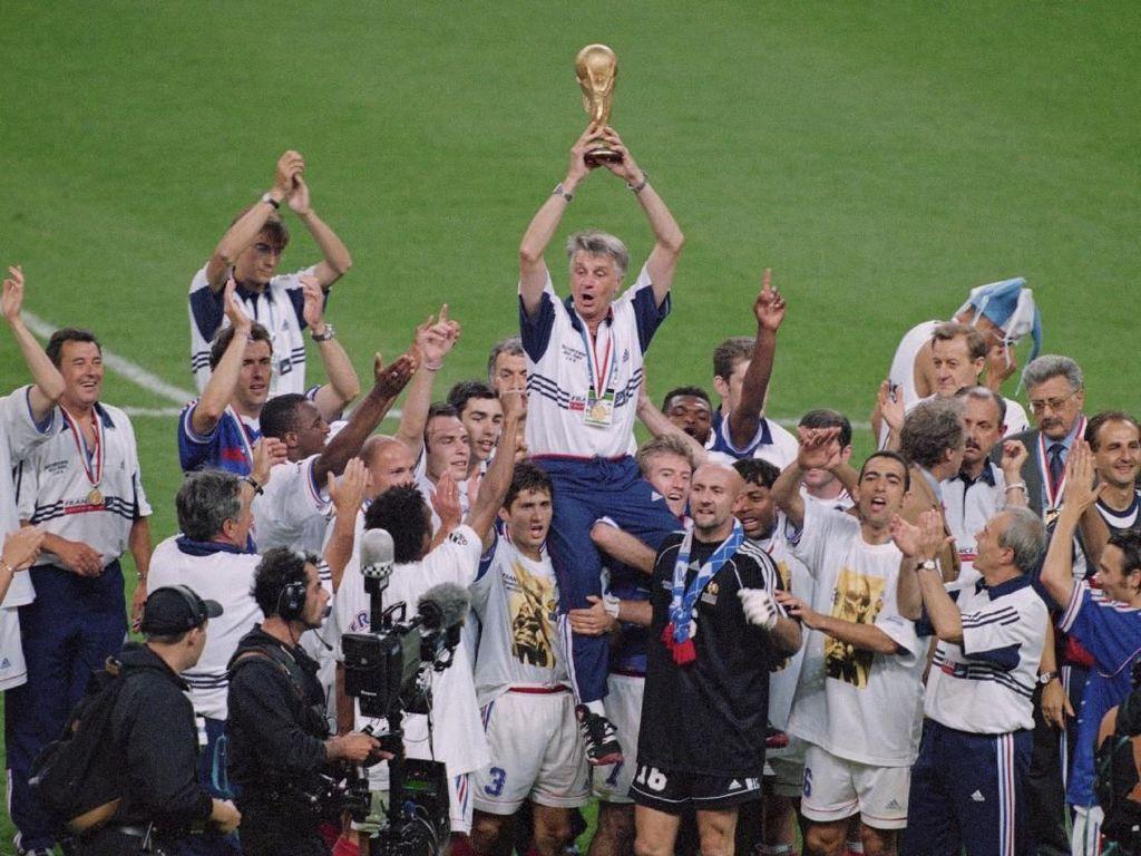 Skuat Prancis Juara Piala Dunia 1998, di Mana Mereka Kini?