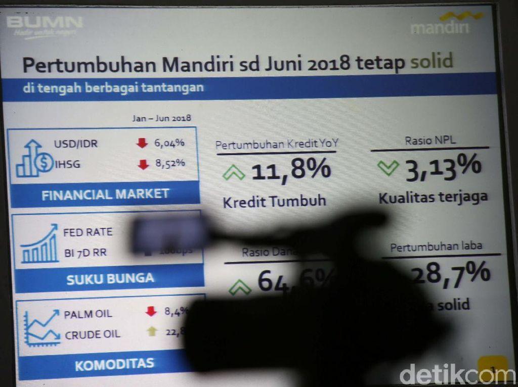 Bank Mandiri Pede Penyaluran Kredit Tahun Ini Tumbuh 13%