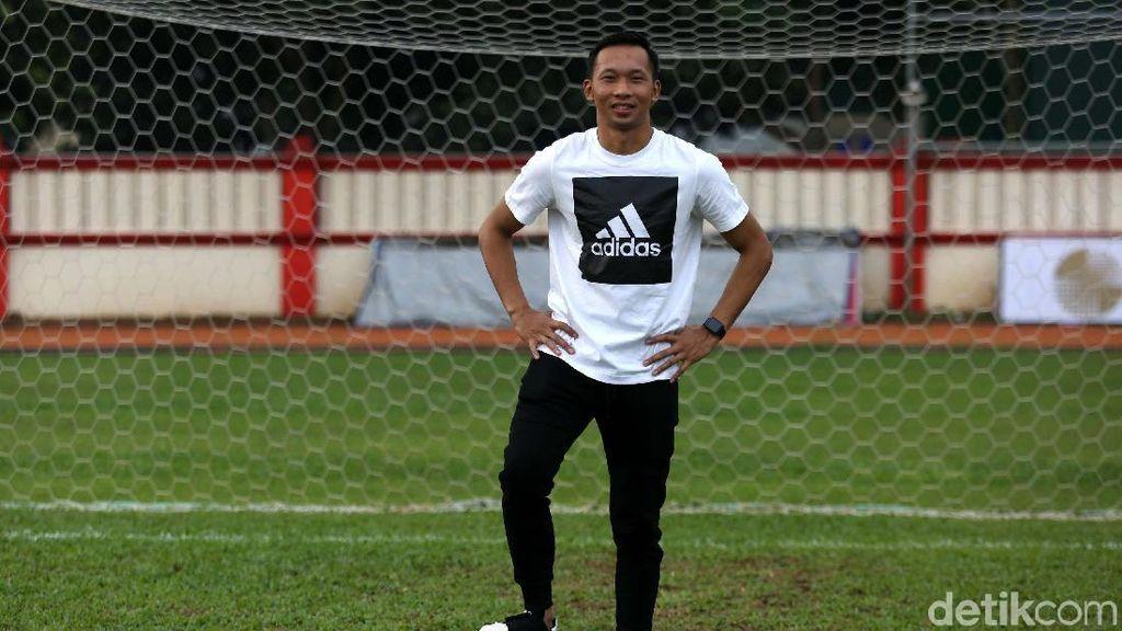 Berguru di Uruguay, Awan Setho Anggap Sepakbola Pacar