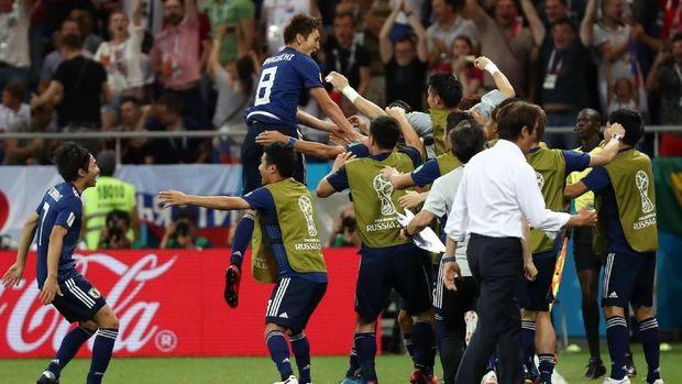 Selebrasi Terpopuler Piala Dunia 2018? Berpelukan