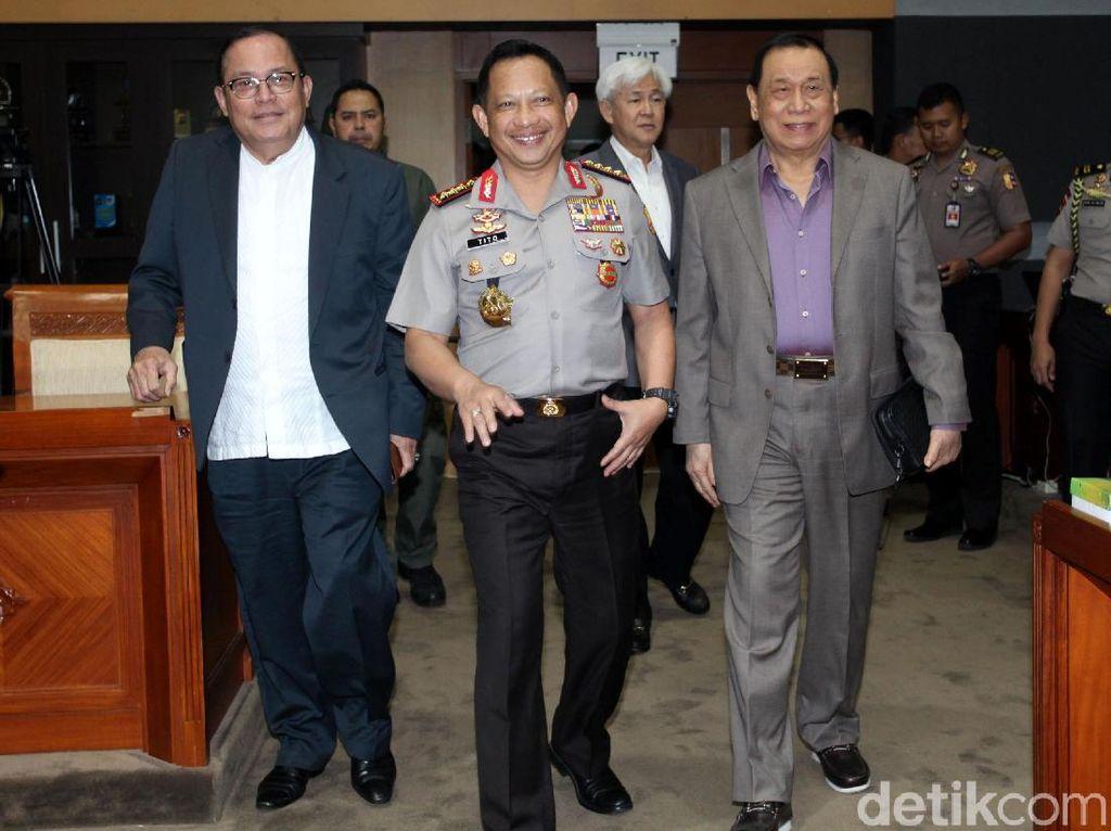 Kapolri dan DPR Bahas Persiapan Asian Games
