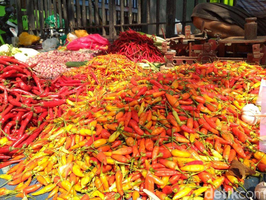 Tinggi, Harga Cabai Rawit Merah di Jakarta Rp 60.000/Kg