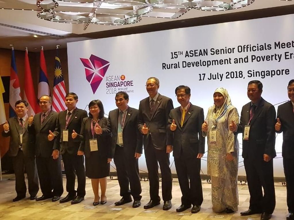 Kemendes Jadi Ketua dalam Forum Internasional SOMRDPE