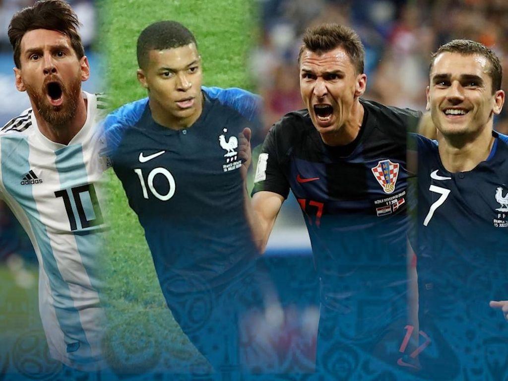 Selebrasi Gol yang Beda di Piala Dunia 2018