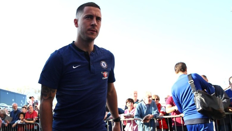 Hazard Bisa Naik Level di Real Madrid