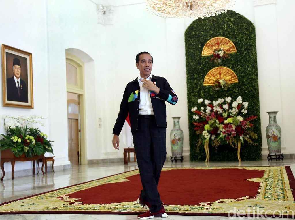 Dijual Rp 4 Juta, Ini Istimewanya Jaket Asian Games Jokowi