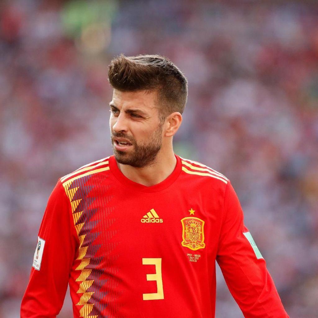 Menanti Enrique Selesaikan Masalah Pique di Timnas Spanyol