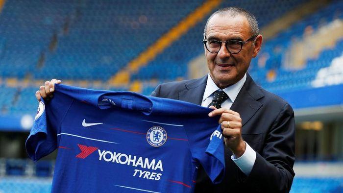 Maurizio Sarri jadi penerus Antonio Conte di Chelsea. (Foto: John Sibley /Action Images via Reuters)
