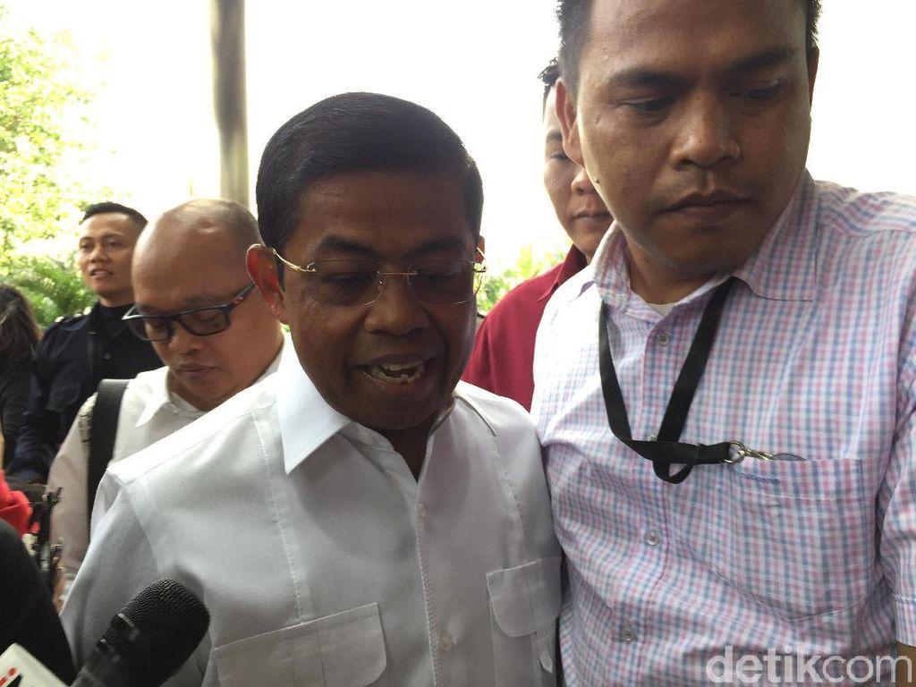 Idrus Marham Penuhi Panggilan KPK Jadi Saksi Suap PLTU Riau-1
