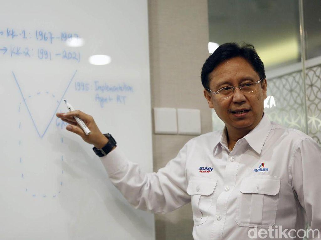 Holding Tambang Bikin Proyek Hilirisasi Puluhan Triliun Rupiah