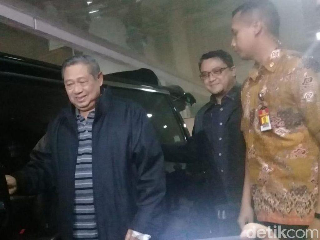 Sudah Lebih Sehat, SBY Tinggalkan RSPAD