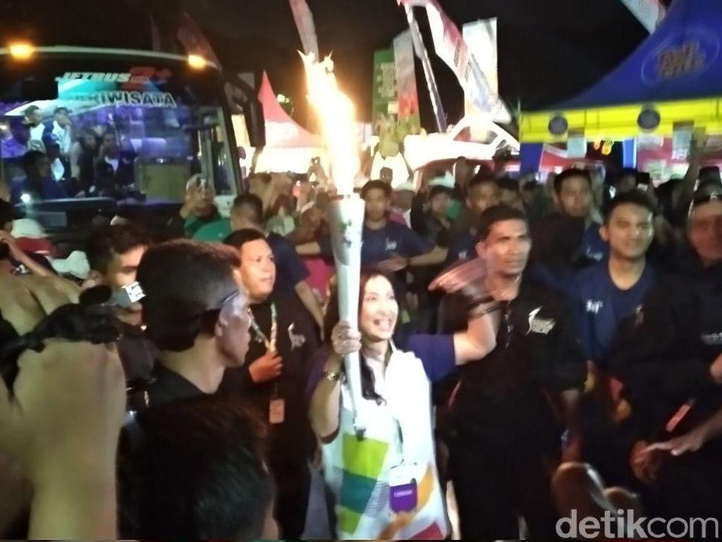 Dari Blitar, Obor Asian Games Bermalam di Malang, Lanjut ke Bromo