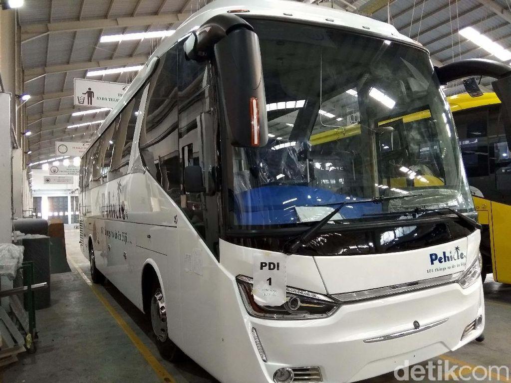 Bus Made in Ungaran Diekspor ke Fiji, Ini Lho Penampakannya