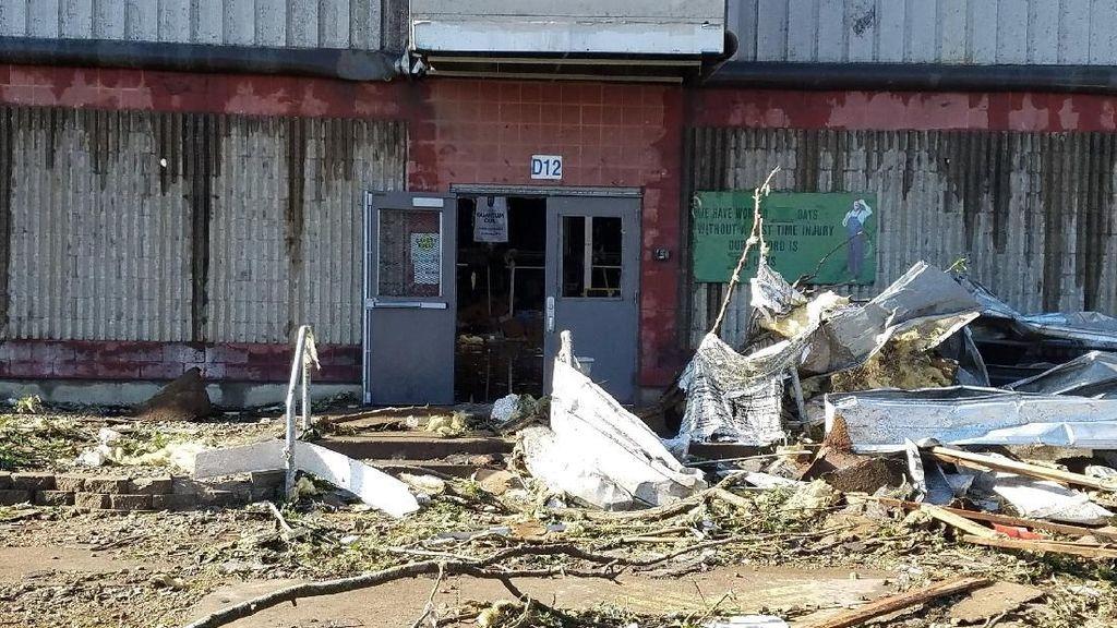 Badai Tornado Hantam Negara Bagian Iowa Amerika Serikat
