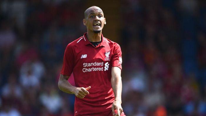 Fabinho, pemain baru Liverpool, akan membujuk Kylian Mbappe ikut gabung ke Anfield (Foto: Nathan Stirk/Getty Images)