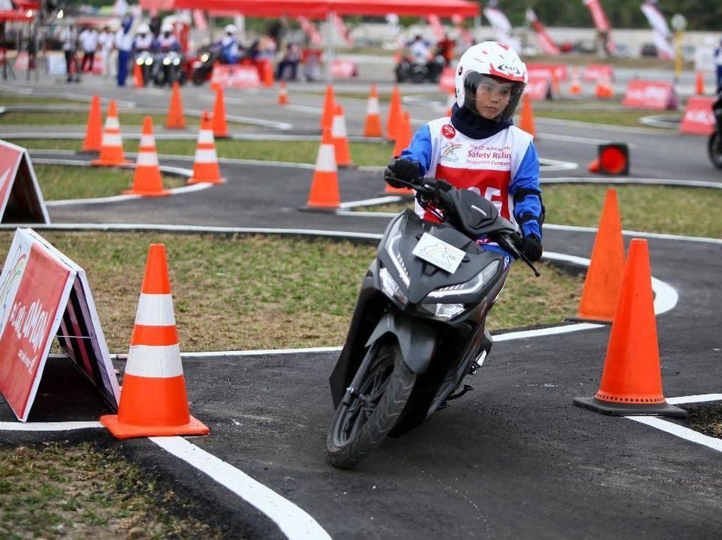 Honda Motor Gemes Ingin Kenalkan Track Safety Driving di Cikarang