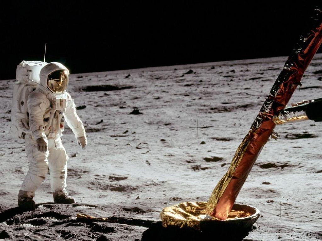 Pendaratan Manusia di Bulan Hoax?