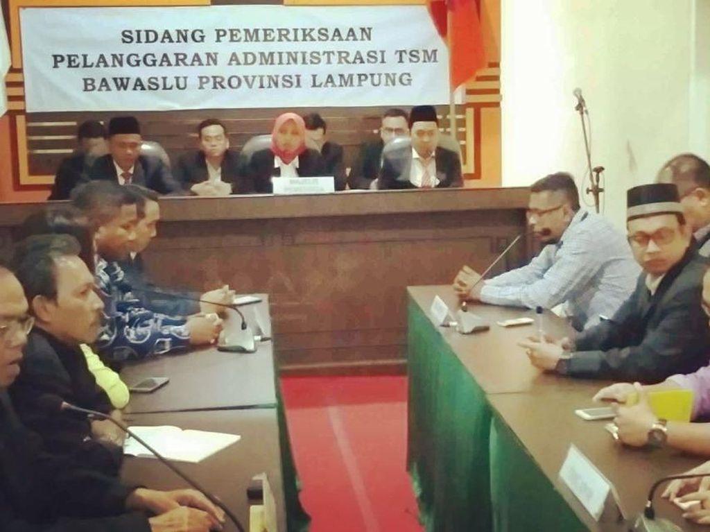Majelis Hakim Nyatakan Arinal-Nunik Tak Terbukti Politik Uang