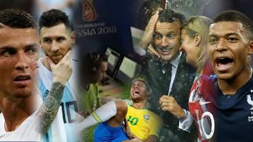 Kumpulan Momen Tak Terlupakan di Piala Dunia 2018