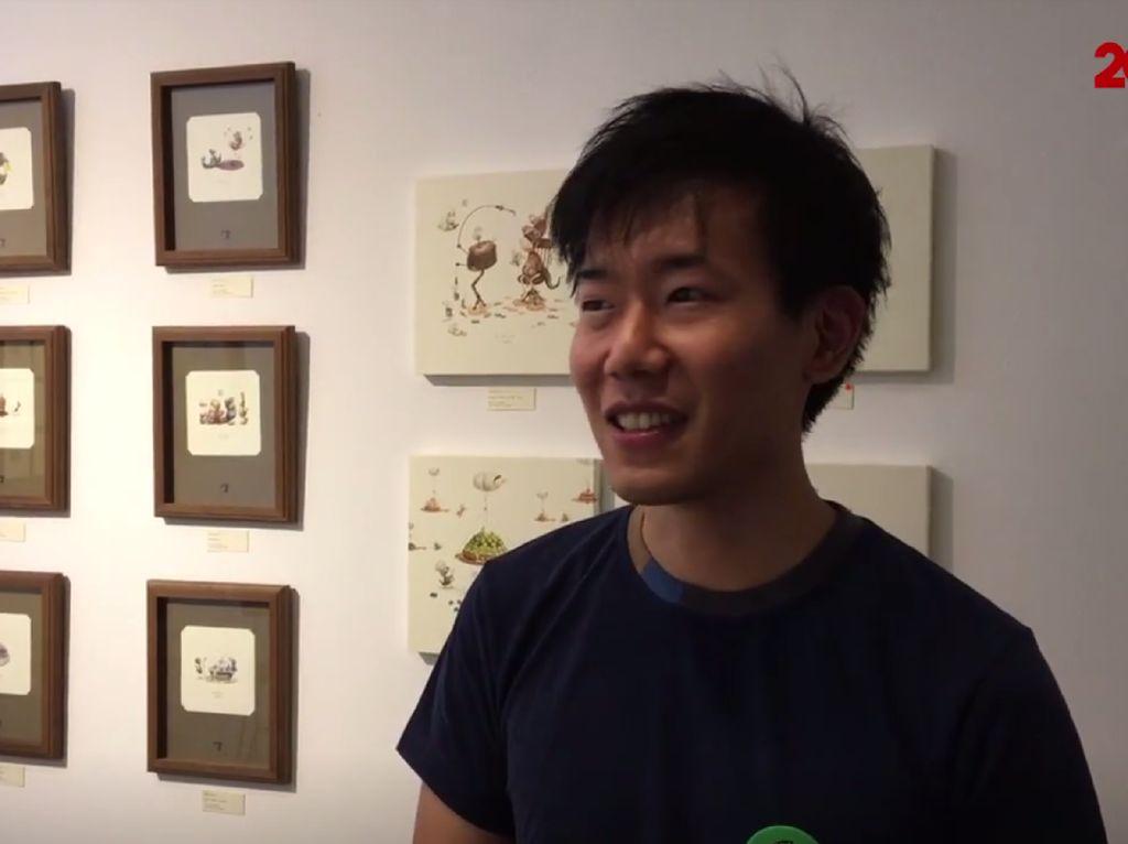 Melihat dari Kaca Pembesar Karya Minimalis Ilustrator Jepang