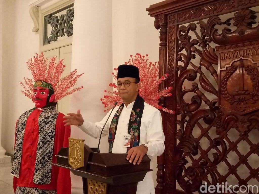Anies Minta Gedung-gedung di DKI Dihias Jelang Asian Games