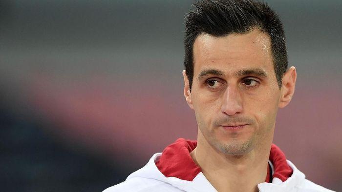 Nikola Kalinic dikontrak Atletico Madrid dengan durasi tiga musim ke depan. (Foto: Francesco Pecoraro/Getty Images)