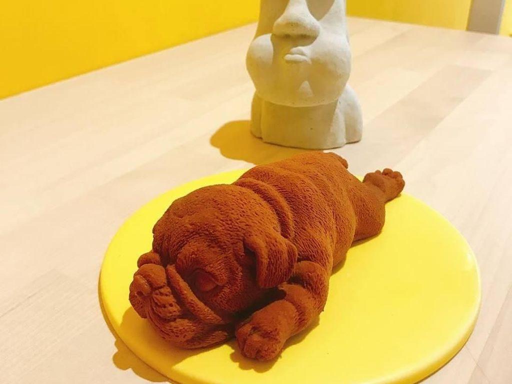 Unik! Paduan Es Krim dengan Ramen Hingga Bentuk Bulldog Sungguhan