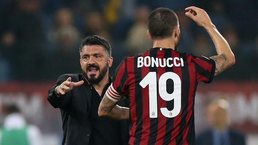 Gattuso: Milan Ingin Pertahankan Bonucci, tapi...