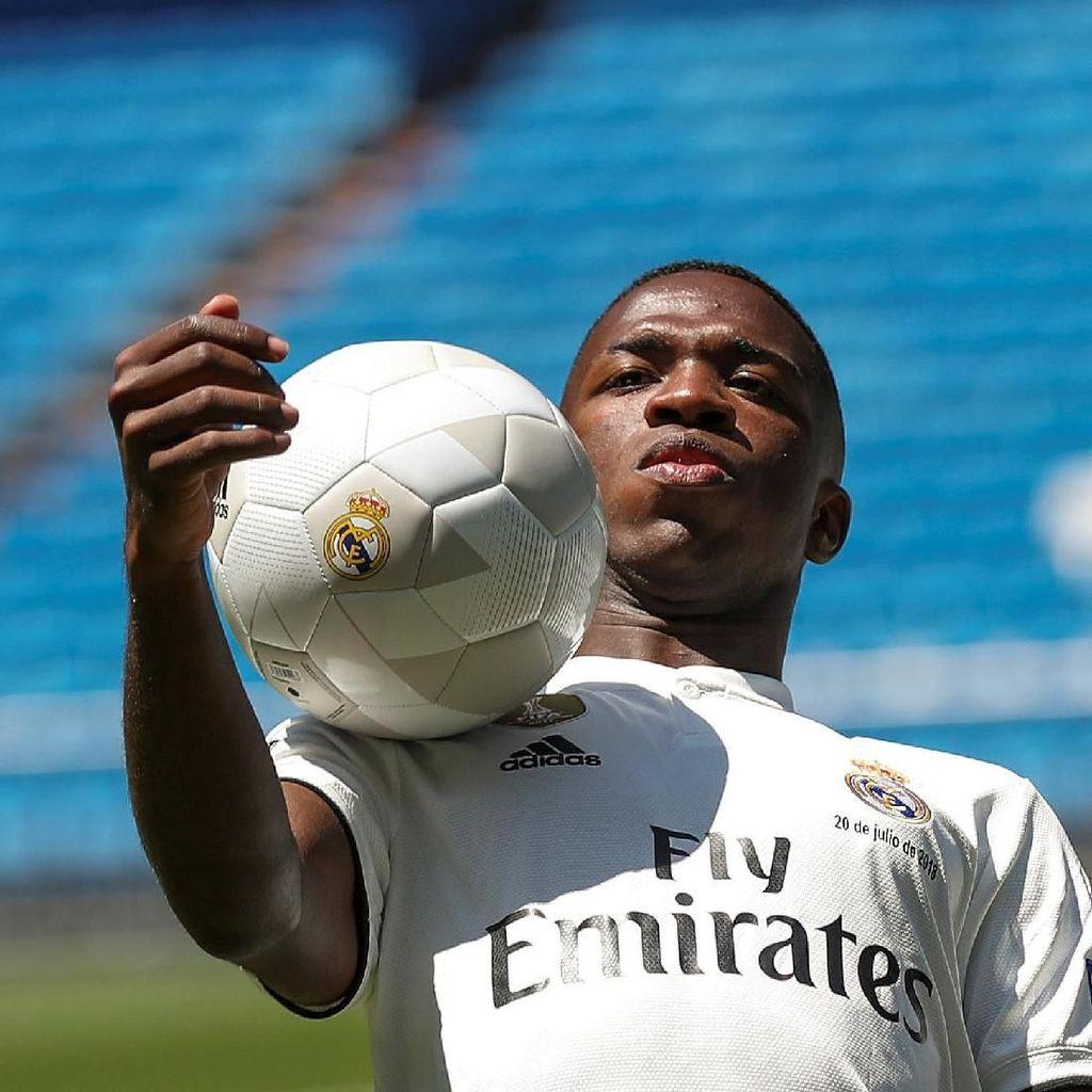 Vinicius Junior: Bikin Gol Keren Lalu Diusir karena Diving