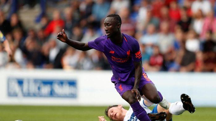 Naby Keita bakal jadi andalan baru lini tengah Liverpool (Matthew Childs/Reuters)