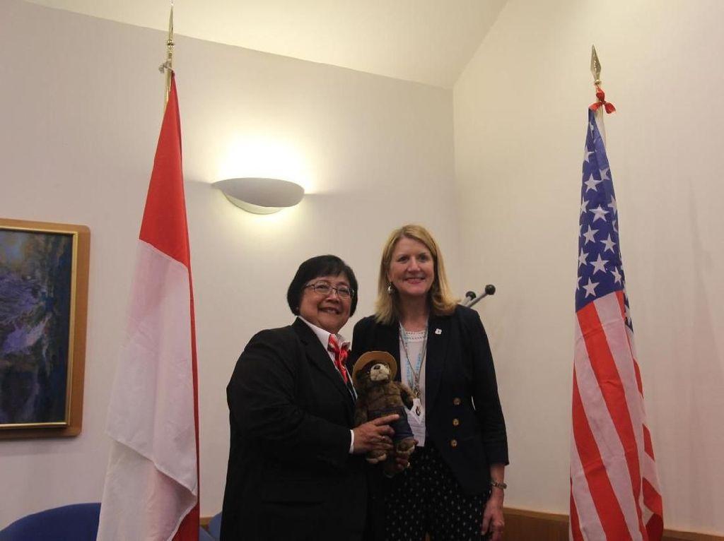 Indonesia Tingkatkan Kerja Sama Pengelolaan Hutan dengan AS