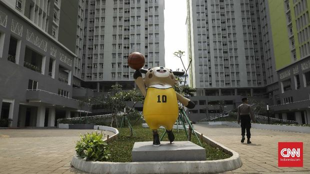 Wisma Atlet, di Kemayoran, Jakarta, 21 Juli.